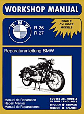 Buchcover: BMW Motorcycles Factory Workshop Manual R26 R27