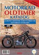 Buchcover: MOTORRAD OLDTIMER KATALOG