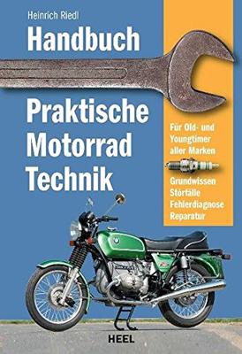 Buchcover: HANDBUCH PRAKTISCHE MOTORRADTECHNIK