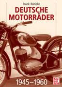 Buchcover: DEUTSCHE MOTORRÄDER 1945-1960
