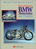 Buchcover: DIE SCHÖNSTEN BMW-MOTORRÄDER AUS 75 JAHREN